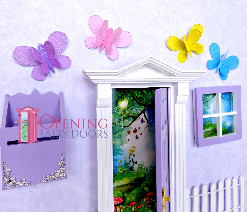 how to colour coordinate your fairy door