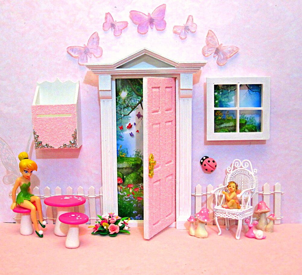 peaches cream opening fairy door