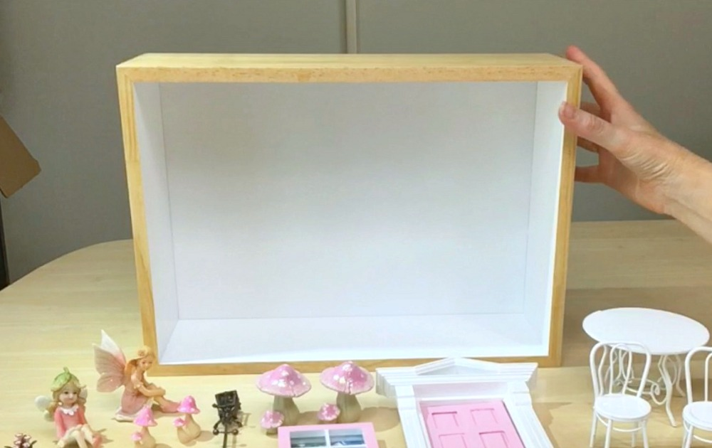 How to Make a Fairy Door Display Box