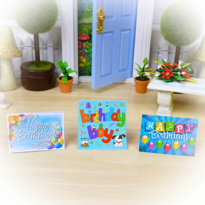 elf birthday cards