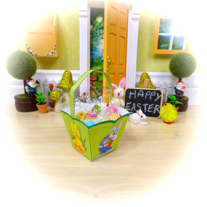 easter fairy basket