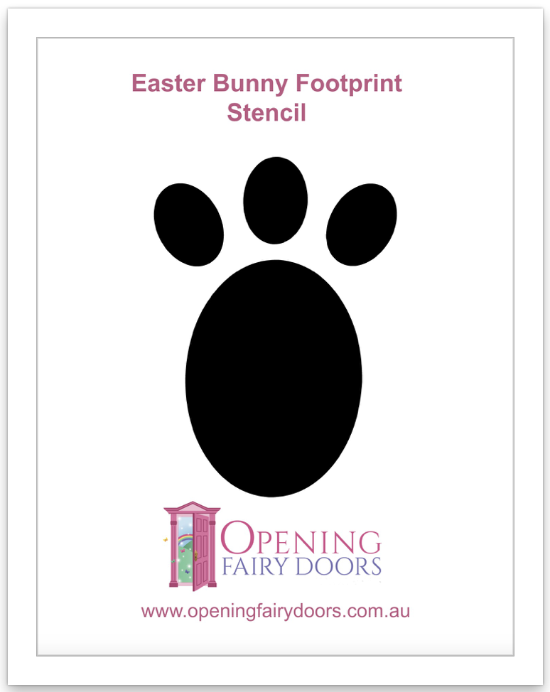 Easter Bunny Footprints Download