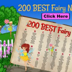 how to choose a fairy name