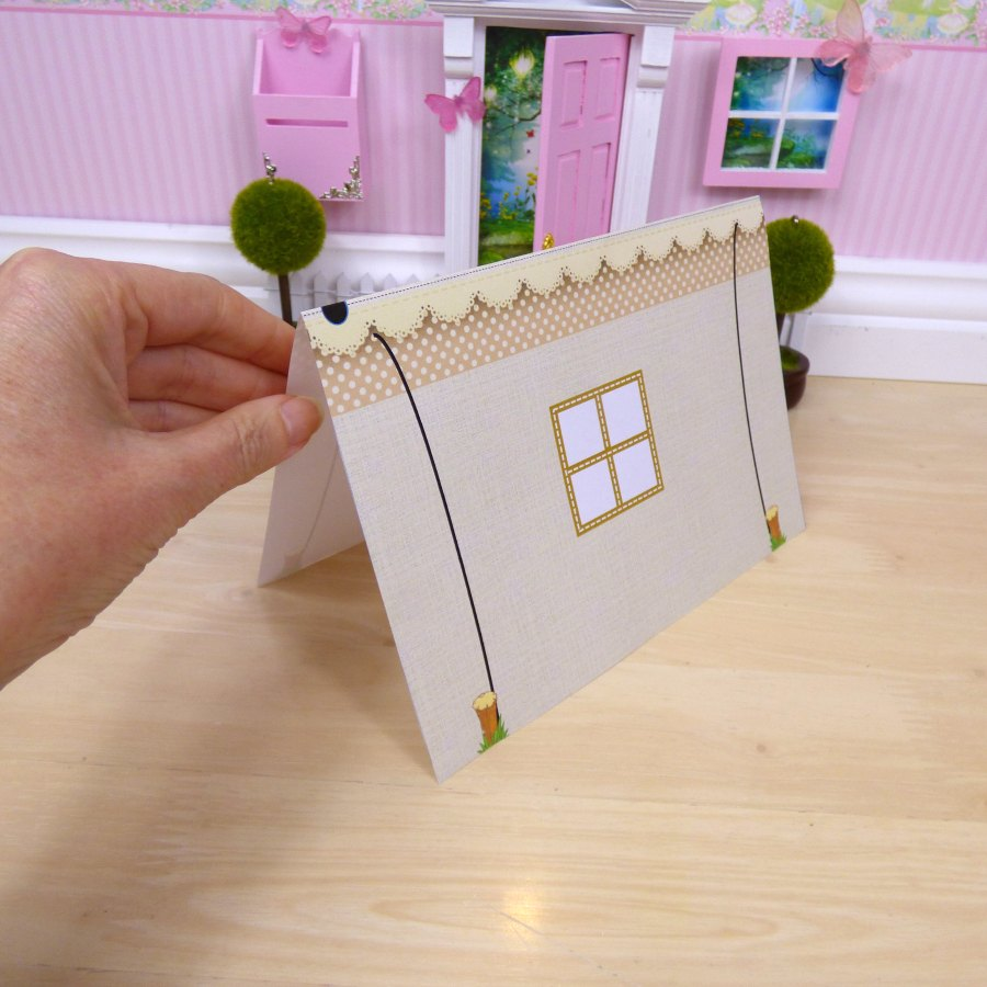 fairy Camping tent for fairy door
