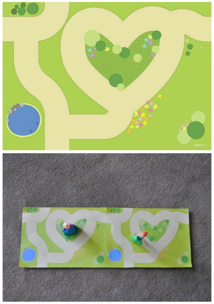 Printable Fairy Garden Play Mat
