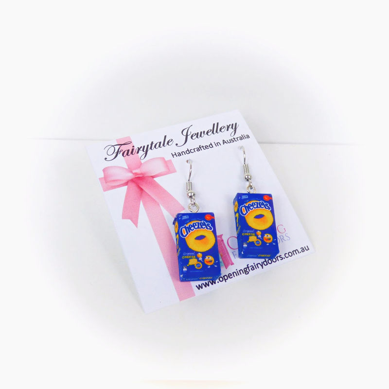 Opening Fairy Doors Cheezels Earrings