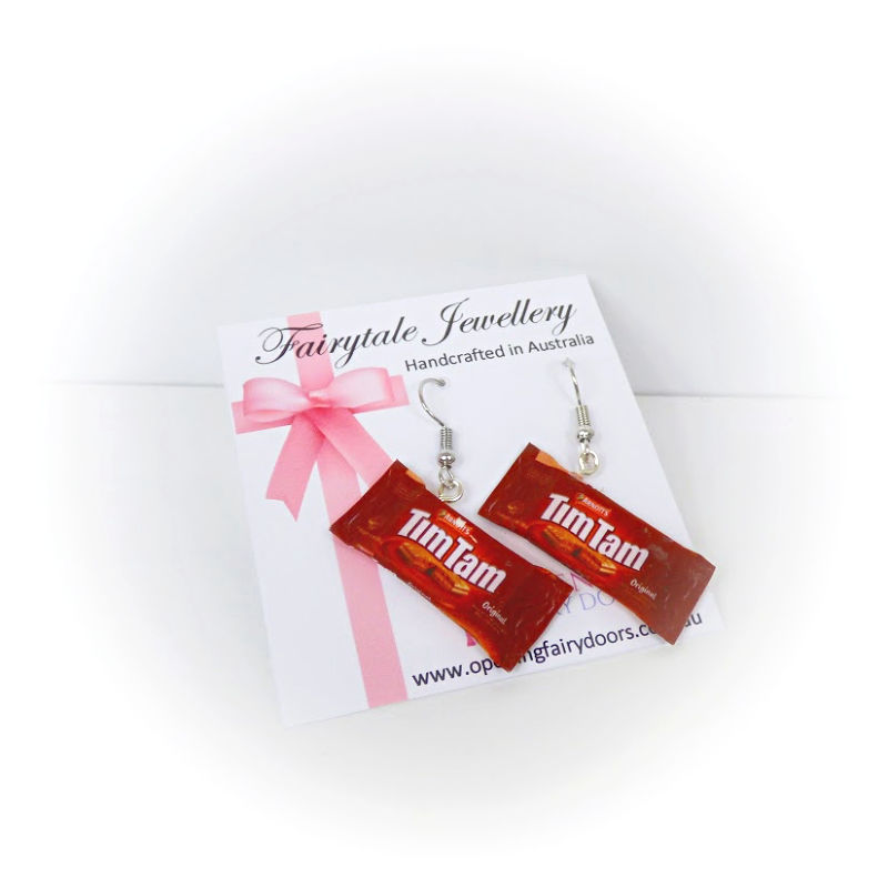 Opening Fairy Doors Tim Tams Earrings