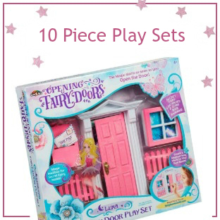 Opening Fairy Door 10 Piece Sets