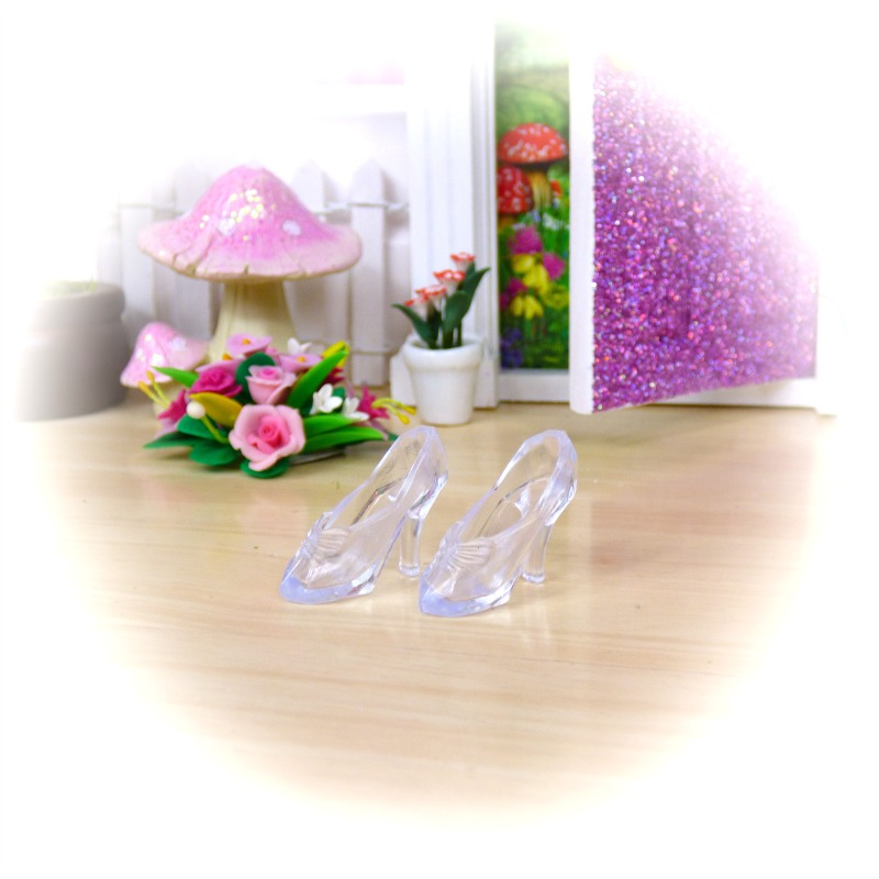 crystal fairy shoes
