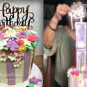 how to make a surprise money cake