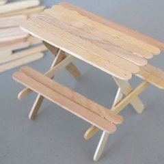 Fairy Garden Picnic Table