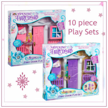 Opening Fairy Doors 10 Piece Play Set
