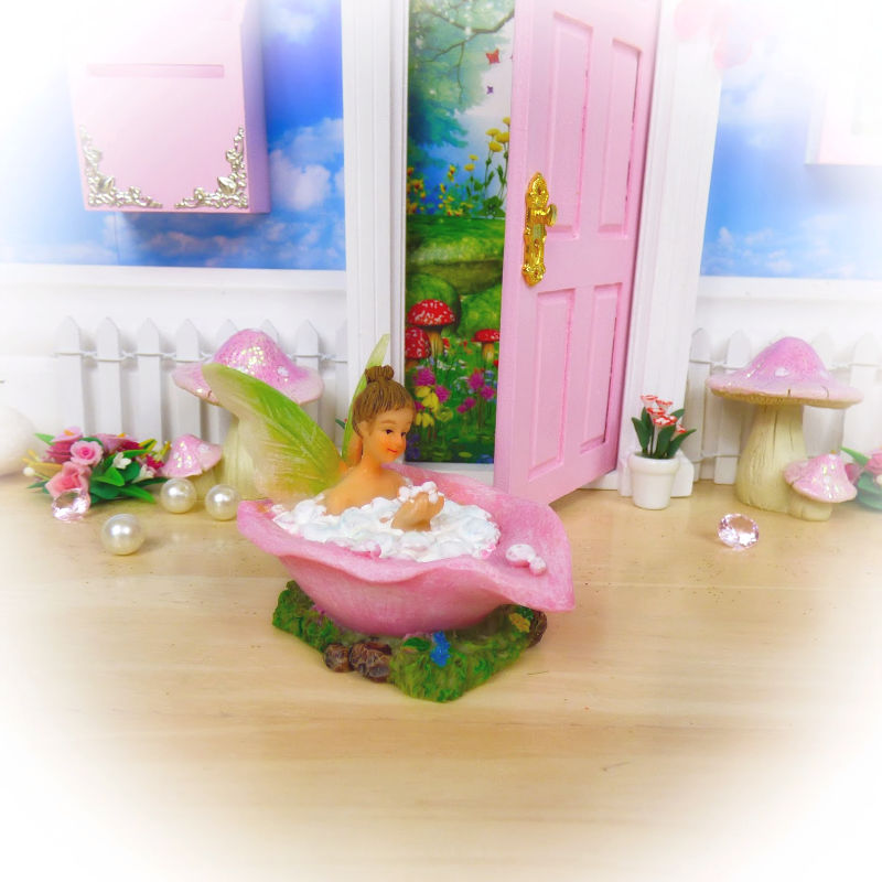 Fairy Bath by Opening Fairy Doors
