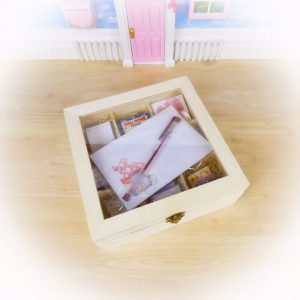 Fairy Mail Kit in a Wooden Fairy Storage Box