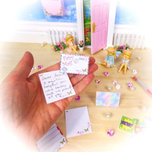 Fairy Mail Kit letter by Opening Fairy Doors