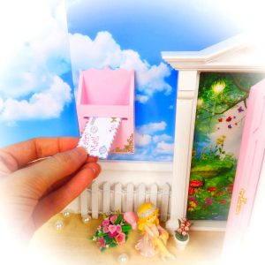 Fairy Mail Kit letter in mailbox by Opening Fairy Doors