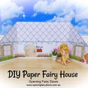 DIY Paper Fairy House by Opening Fairy Doors