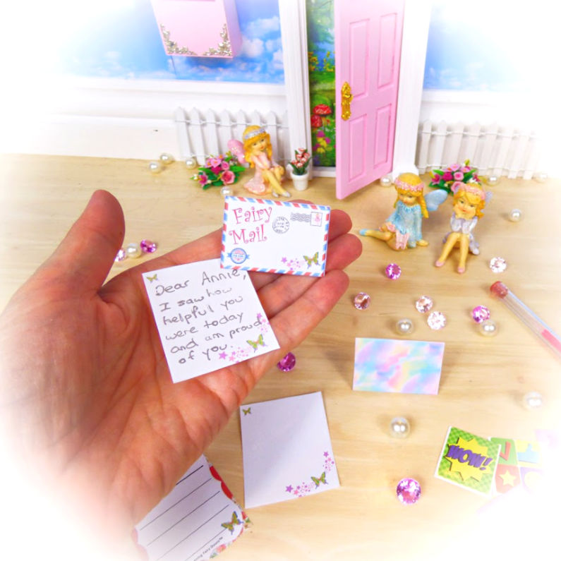 how to write fairy letters