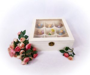 Fairy Storage Box with fairies by Opening Fairy Doors
