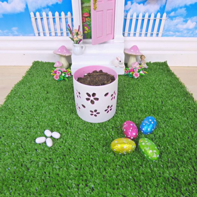 How to grow some Magical Fairy Easter Eggs outside your fairy door