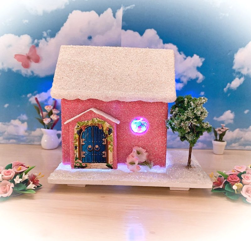 Sugarplum Cottage Light Up Fairy House