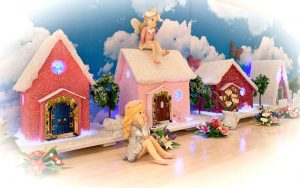 Fairy Floss Cottage Light Up Fairy House