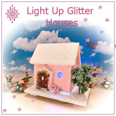 Light Up Fairy Houses