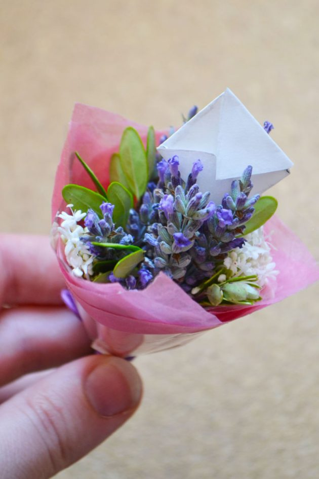 How to Make a Fairy Bouquet