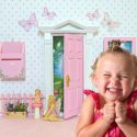 start a new tradition with an opening fairy door