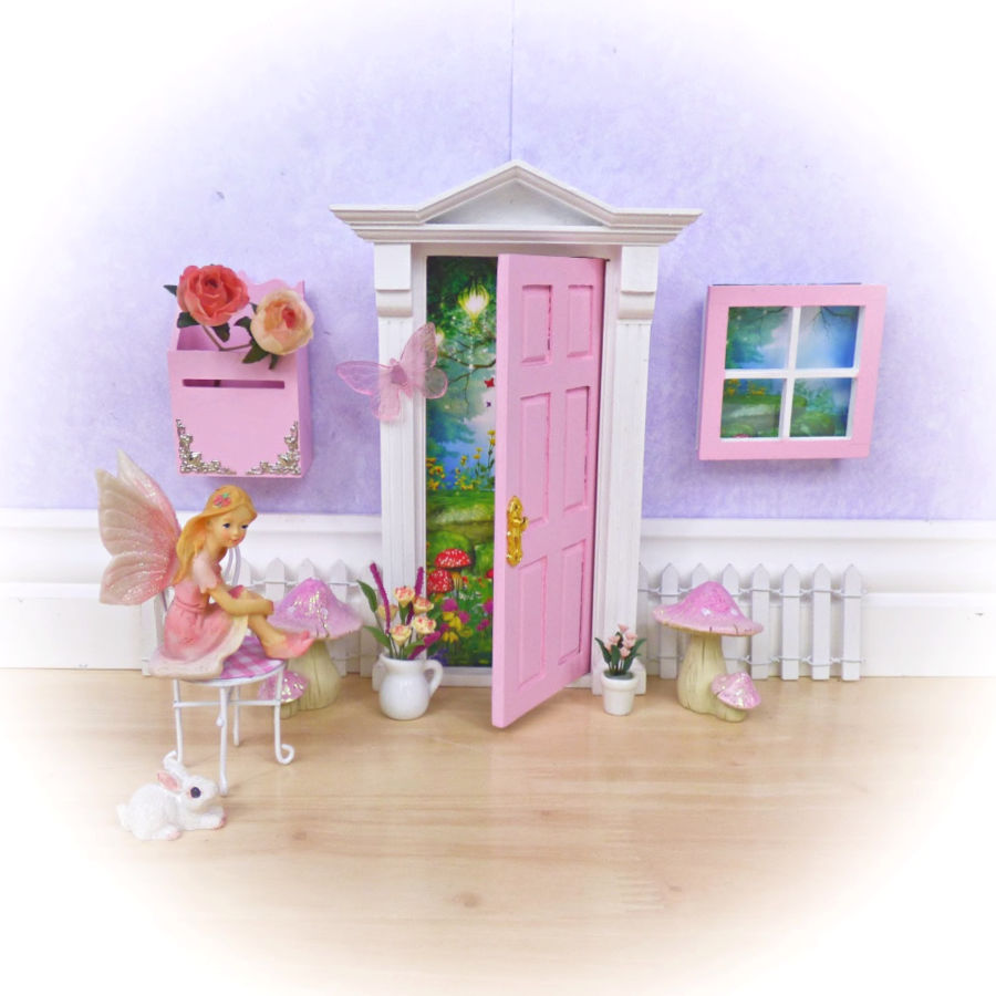 Pink Fairy Chair