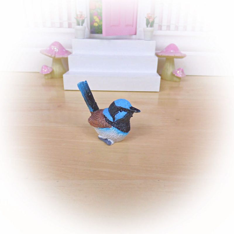 blue bird for fairy door