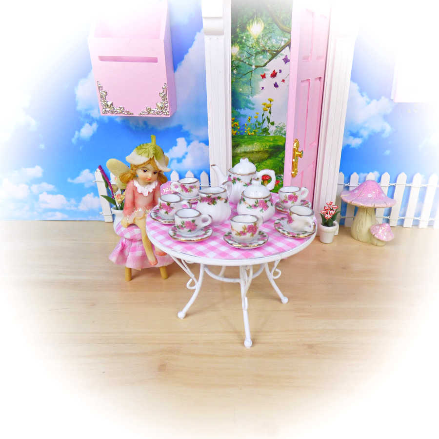 pink fairy table