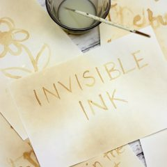 invisible fairy messages