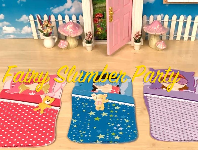 free Fairy Slumber Party Printable Download