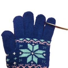 How to make an easy fairy beanie from a glove