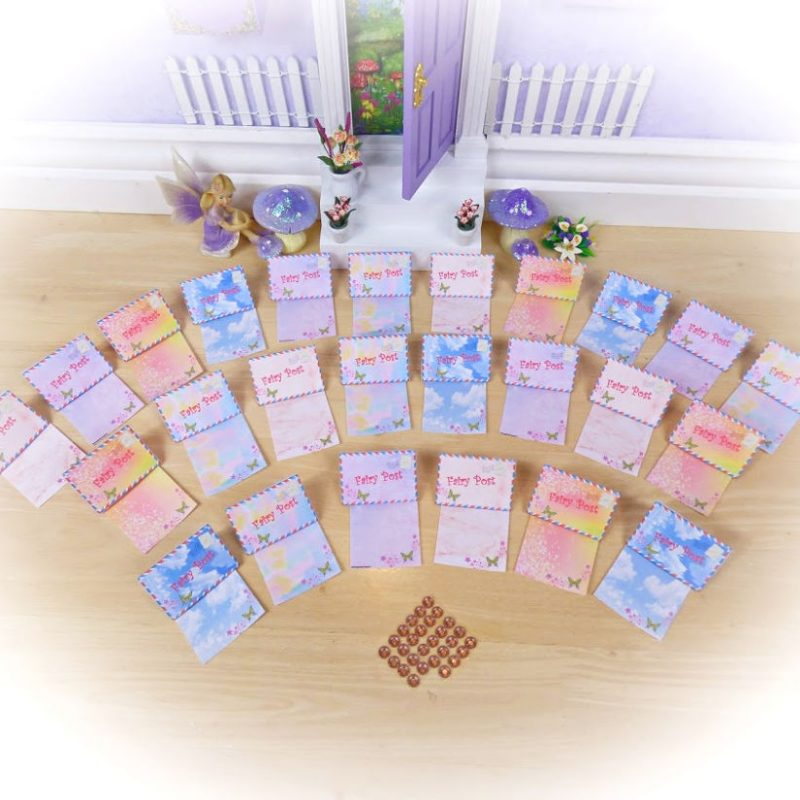 Rainbow Fairy Letters Set