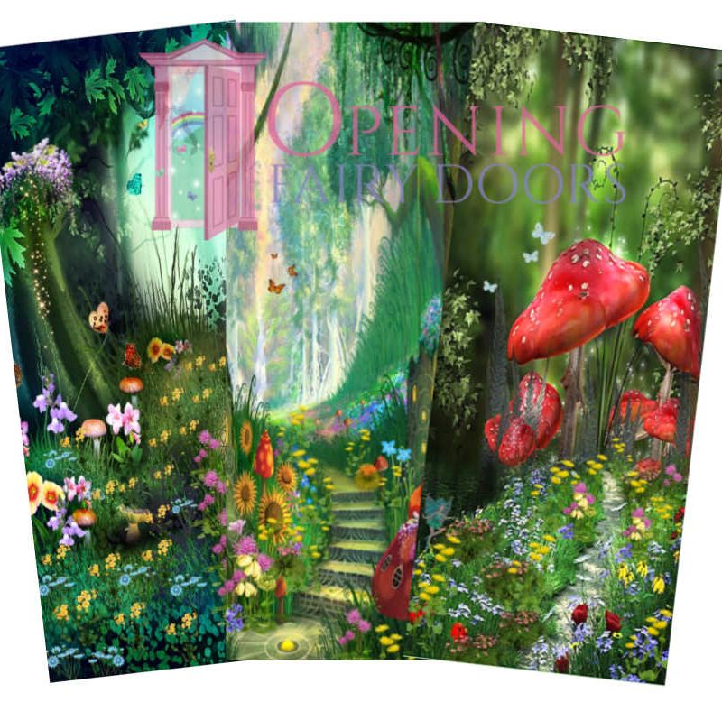Garden Fairy Door Background Pictures