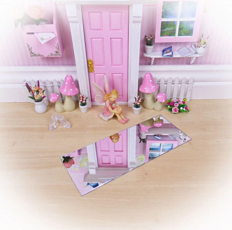 mirror fairy door background