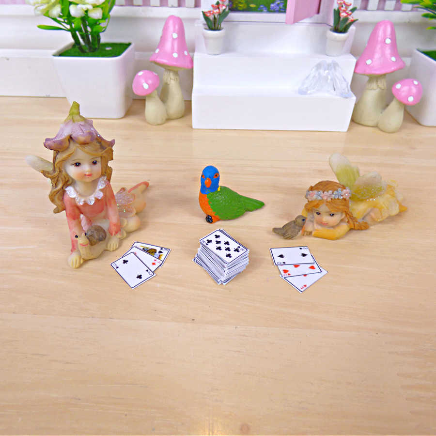 Fairy Home Fun miniature playing cards