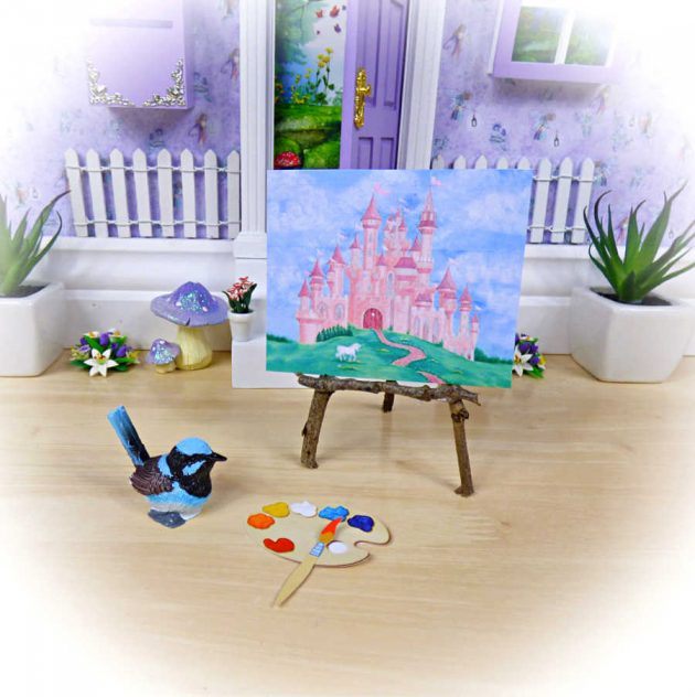 fairy painting easel