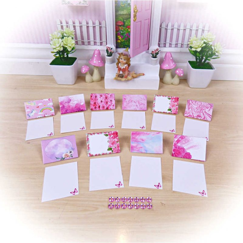 Pink Fairy Letters Small Set