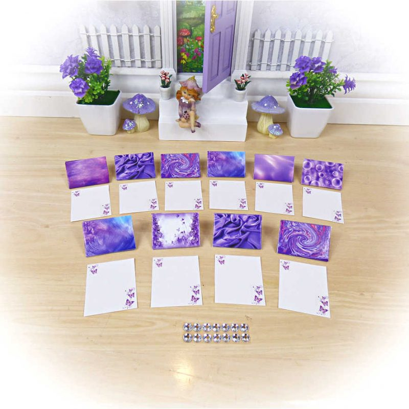 Purple Fairy Letters Small Set
