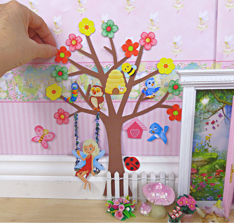 How to make a fairy tree for your fairy door
