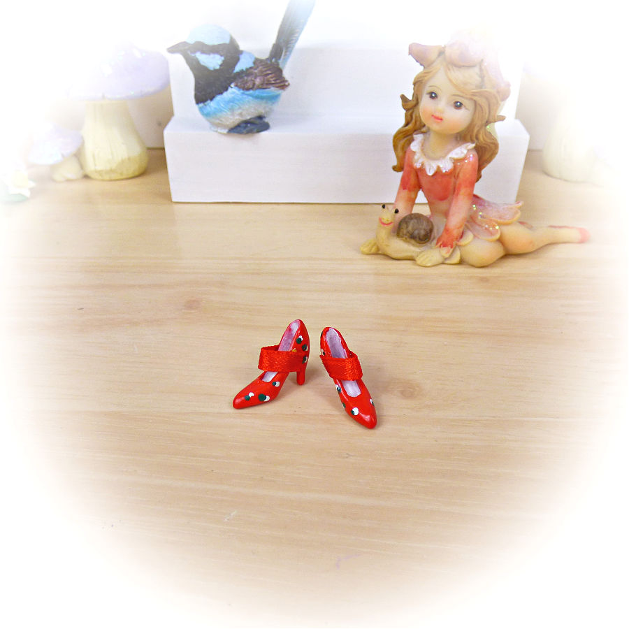 Red Fairy Shoes