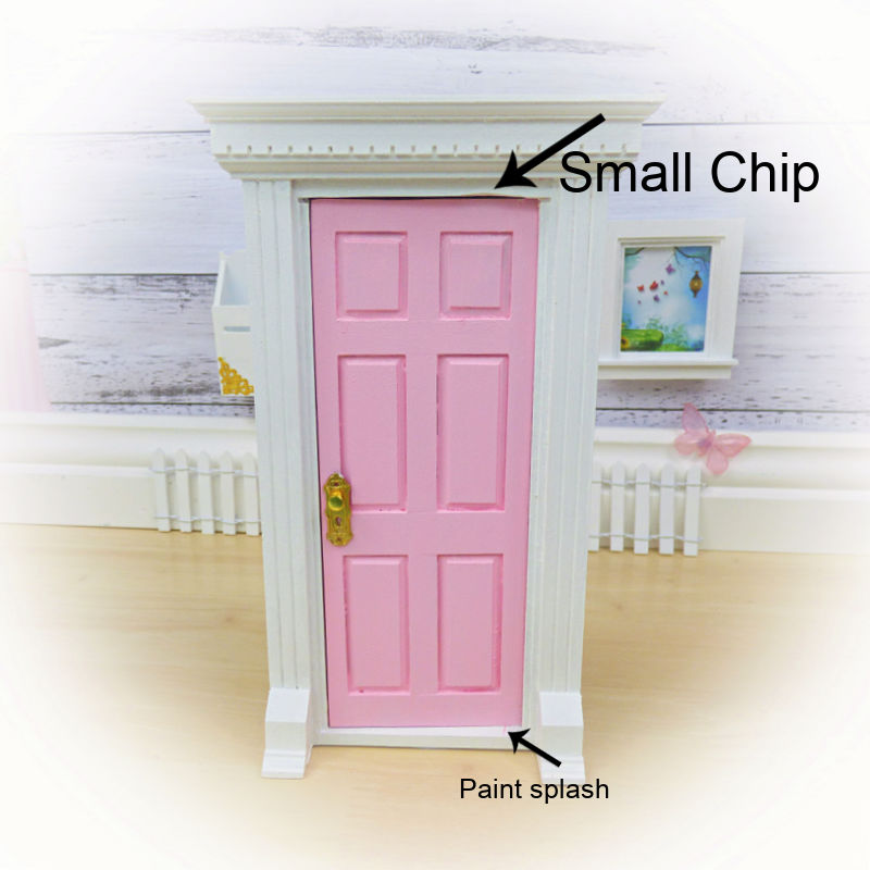 Sale pink Opening Fairy Door (chip)