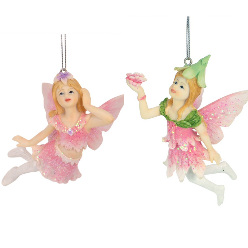 pink hanging fairy