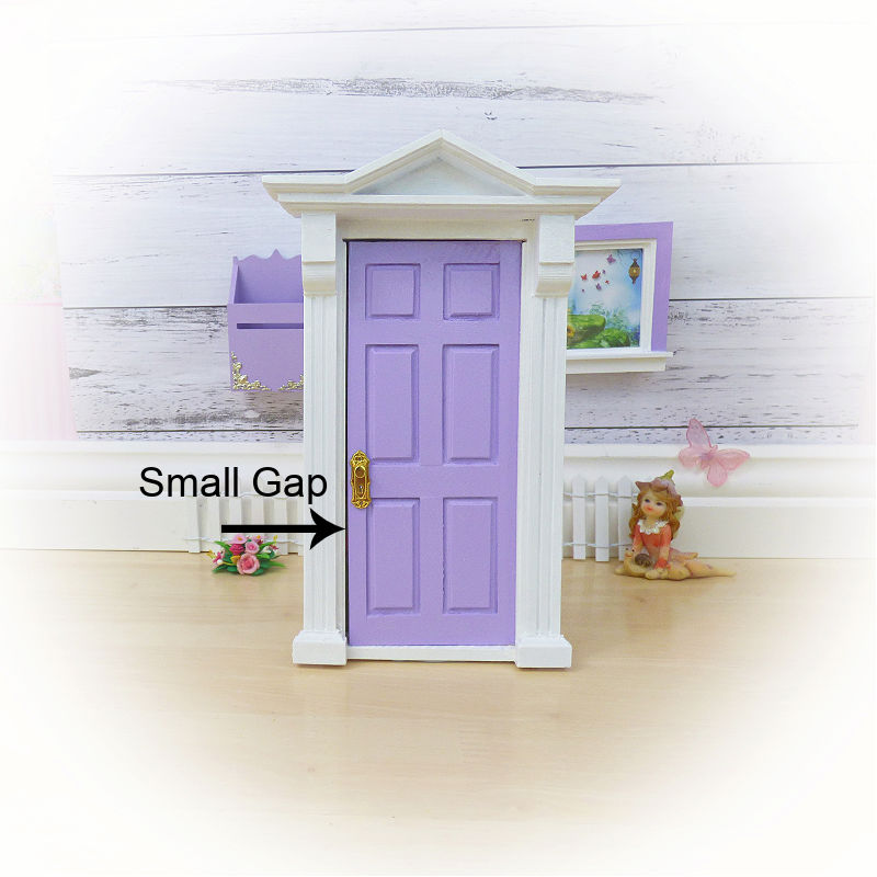 Sale Purple Opening Fairy Door (Gap)