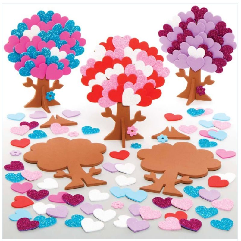 How to Make a Fairy Heart Tree