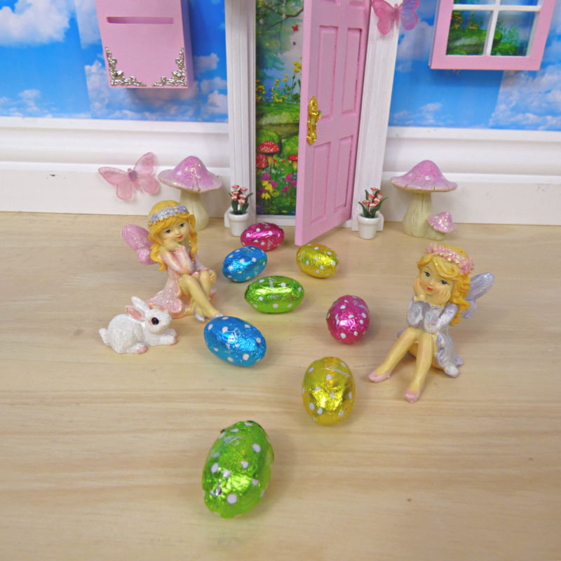 How to use a fairy door at Easter