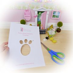 How to Create Easter Bunny Footprints